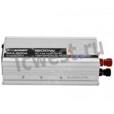 Преобразователь напряжения ( инвертор) 12-220 вольт 1500 ватт