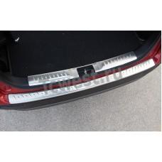 Накладки на порог багажника  и задний бампер SUZUKI  VITARA 2015-2018г.